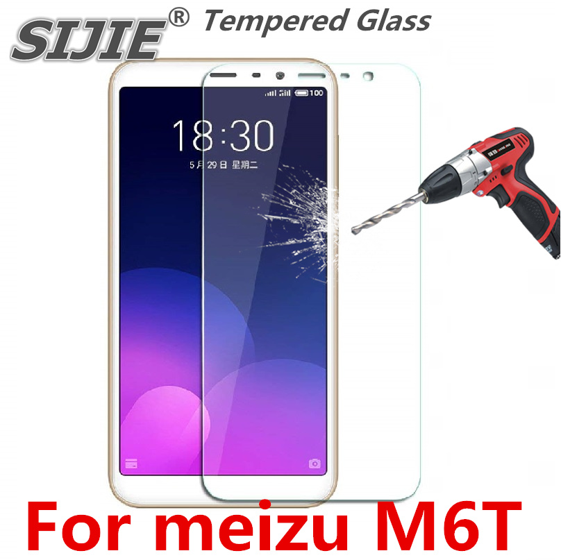 Tempered Glass For meizu M6T Charm Blue 6T screen protective toughened phone smartphone cover Thin case friendly clear in Phone Screen Protectors from Cellphones Telecommunications