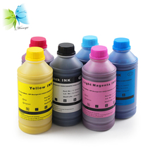 Winnerjet 1000ML X 6 colors replacement water based dye ink for HP designjet 1050 1055 1050c 1055cm plotter for HP 81
