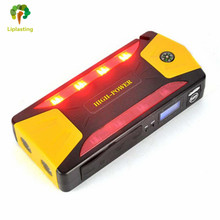 Liplasting Car Jump Starter Super Capacity 82800mAh 12V Petrol Diesel 600A Peak Car Charger 4USB Power Bank Compass SOS Lights