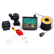 Fish Finder Professional Waterproof IP68 30m Underwater Fishing Seeker with 3.4 inch TFT Screen 150 Vision Video Camera Fishing