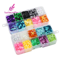 Lucia crafts 1boxs 5mm Mix Rainbow Cup Sequin Paillettes Flake Sewing For Dress,Bags,Garment DIY Decoration 24010004(5HS1box)