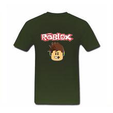 1428a6171bb50 New High Quality Clothes Men s Roblox T Shirt 3d Big Size T-shirt Round  Collar