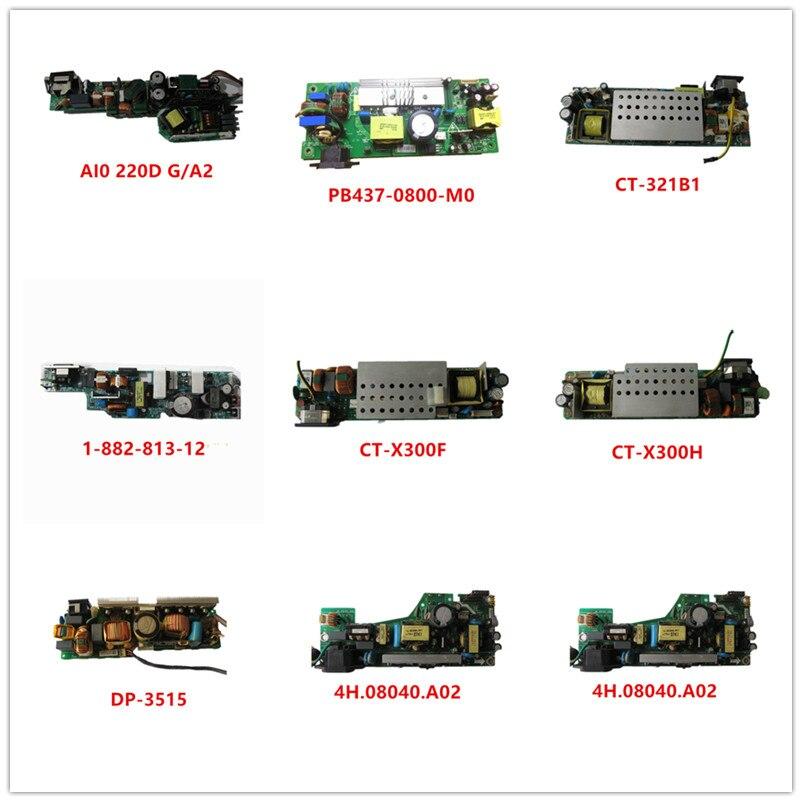 AI0 220D G/A2| PB437-0800-M0| CT-321B1| 1-882-813-12| CT-X300F| CT-X300H| DP-3515| 4H.08040.A02 Used