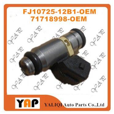 dedff0069f463 NEW FUEL INJECTOR (4) FOR FITFiat Lancia 1.6L L4 IWP064 FJ10725-12B1  75112064 71718998 1995-2010