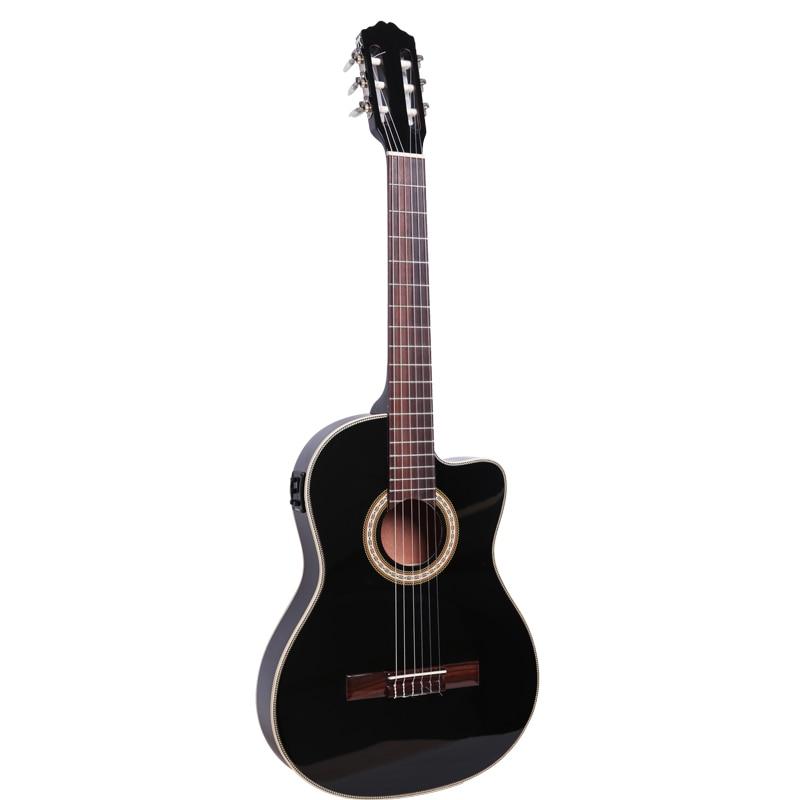 все цены на  cutway thin body electric classic guitar with turner with eq  онлайн