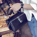 Bags Fashion Vintage 2017 Rivet For Handbag Fashion Women'S Handbag Bucket Handbag Messenger Bag