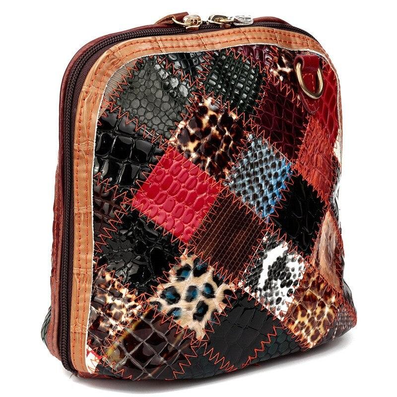 retalhos de couro genuíno bolsa Ocasião : Versátil