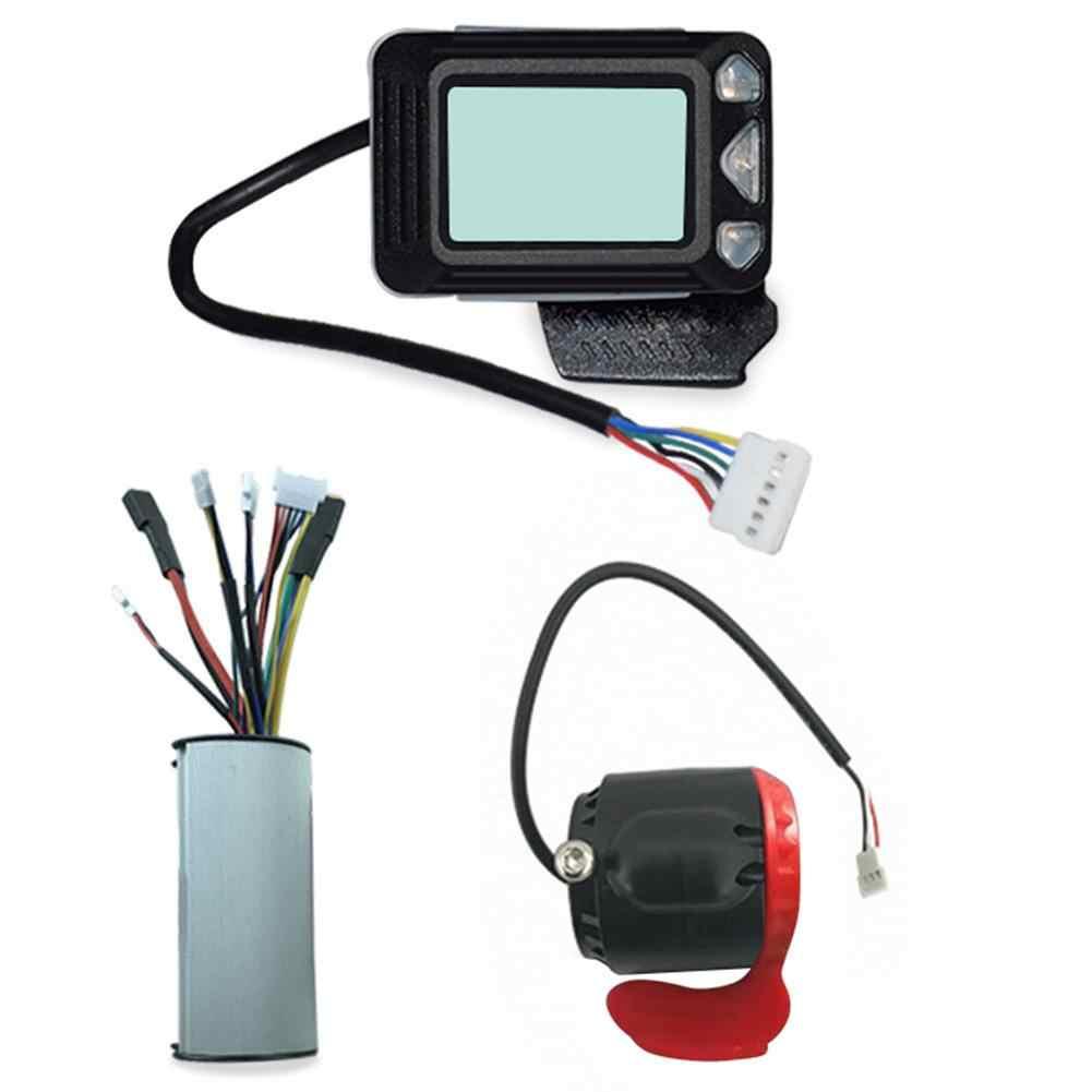 3 個電動スケートボード LED 表示器アクセル電子ブレーキマザーボードコントローラ炭素繊維アルミ合金