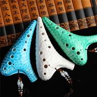 Flute Ocarina 12 Holes Key Alto C Legend of Zelda Ocarina flute sea waves surface Professional Ocarina 12 Folk Music Instrument