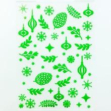 YLEF122 Leaves Plastic Embossing Folder For Scrapbook Stencils DIY Photo Album Cards Making Decoration Scrapbooking Tools New