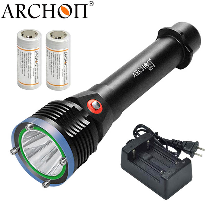 Diving Light Flashlight lantern Lights ARCHON D22-II CREE XML-L2 U2 Led 1200 Lumens Underwater Dive Torches Light Lamp объектив yajiamei cree xml 5 6 u2 21 2 yjm cree xml 20