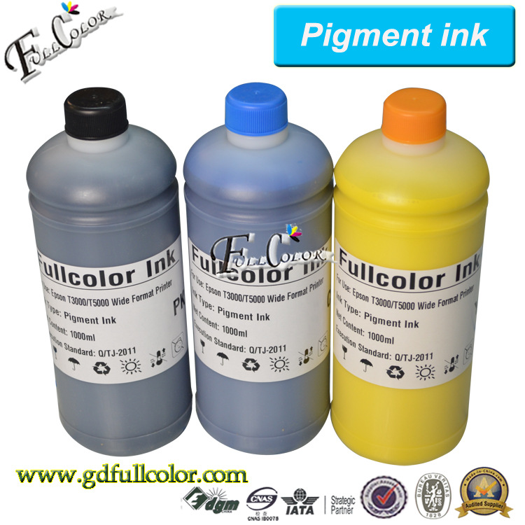 ФОТО Bulk Refill inkjet Pigment ink for Epson T3070 T5070 T7070 CISS ink System
