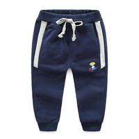 Children S Sweatpants 2018 Spring New Boy S Sports Trousers Baby Sweatpants Beam Legs Can Be