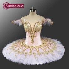 Зеленая классическая балетная пачка костюмы сценическая одежда Дон Кихот балет, танец соревнования Apperal взрослый розовый красный балет