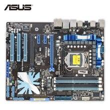 ASUS P7P55D оригинальный использоваться для настольных ПК P55 разъем LGA 1156 i3 i5 i7 DDR3 16 г ESATA ATX на продажу