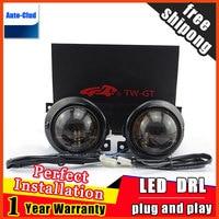 Car Styling HID Double light lens fog lamp for Passat B5 2005 2015 E MARK & DOT Authentication for Patrol foglight 2 function