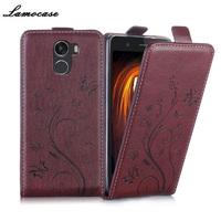 Lamocase Embossing Leather Case For Wileyfox Swift 2X 5.2 Inch Flip Cover For Wileyfox Swift 2X Back Protective Case