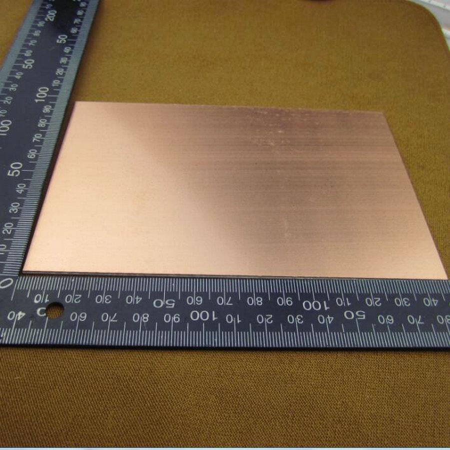 10pcs Lot Single Side 1015 Universal Board Blank Copper Clad Printed Circuit China 5 Pz Lotto Singolo Bianco Rivestito Di Rame