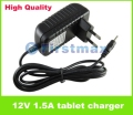 12V 1.5A Tablet Charger for Acer Aspire Switch 10 SW5-011SW5-012 SW5-012P Switch 11 SW5 -111 IconiaTab W3-810 for Gateway TP-A60