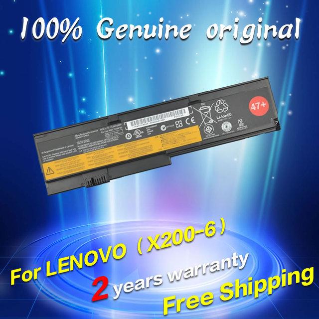 Envío gratis 42t4834 42t4835 42t4537 42t4536 42t4538 43r9254 jigu batería original del ordenador portátil para lenovo thinkpad x200 x201 x200s