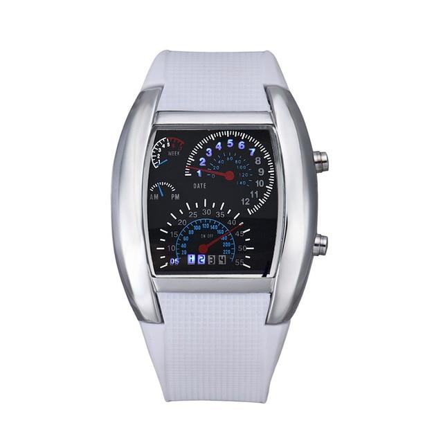 New Fashion Aviation Watch Sports Watches Women Men Wristwatch LED Digital Military Army Male Date Clocks Gift Relogio Masculino