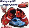 Presentes ( etiqueta dos desenhos animados ) 2015 primavera sapatos de crianças, Crianças / meninos carros sapatos / tênis