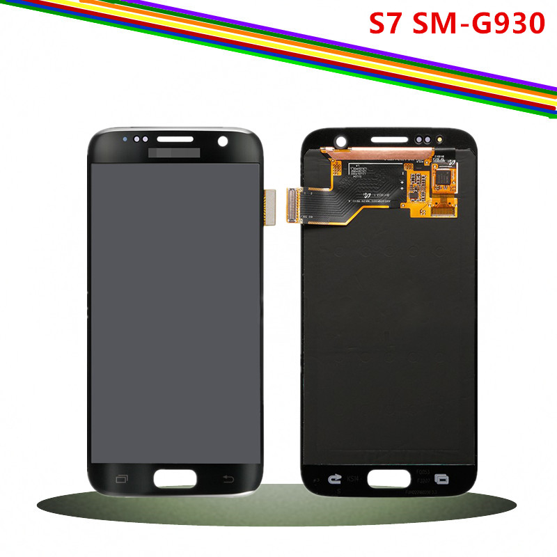 Replacement Screen for Samsung Galaxy S7 Original LCD Display + Digitizer Assembly with adhesive SM G930