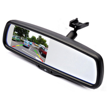 """4.3 """"parking samochodowy lusterko wsteczne monitor tft lcd ze specjalnym uchwytem do vw audi ford toyota nissan mazda hyundai kia honda"""