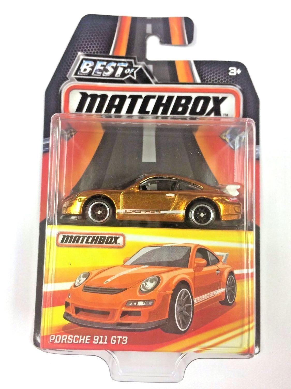 2019 Matchbox Car 1:64 Sports Car PORSCHE 911 GT3 Collector Edition BEST OF Metal Diecast Model Car Kids Toys Gift