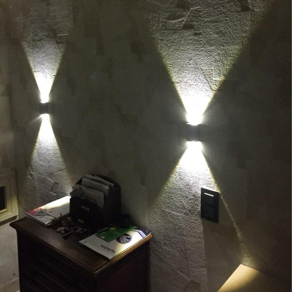 Schon Tanbaby 2 Watt Led Wand Lampe Platz Led Spot Licht Aluminm Moderne Hause Dekoration  Licht Für Schlafzimmer/esszimmer /toilette