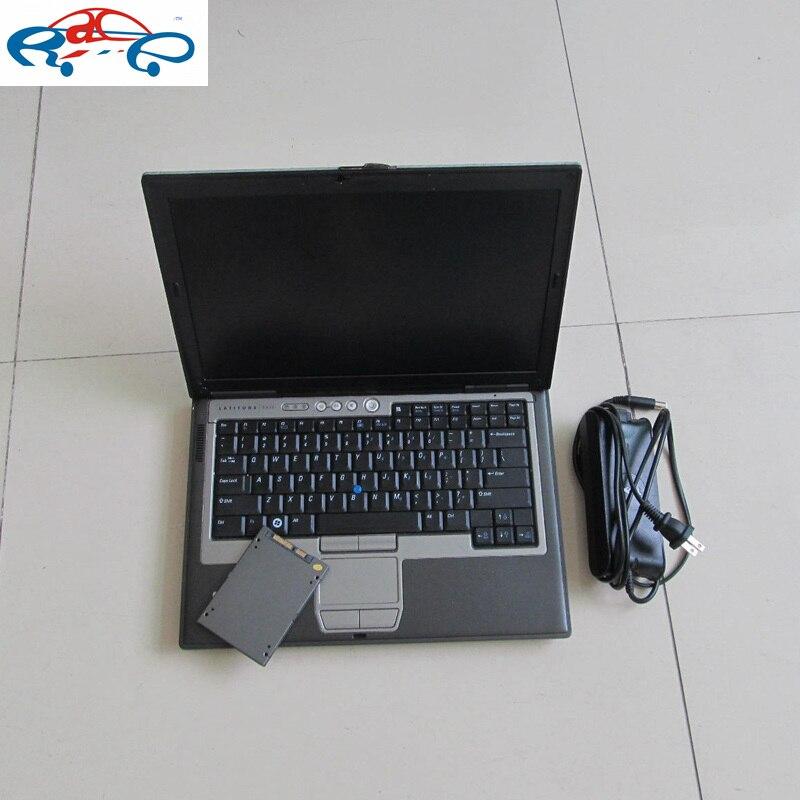 Nouveau MB Star C4 SSD avec la dernière sd c4 2019.5 v dans l'ordinateur portable D630 travailler avec le diagnostic d'étoile C4