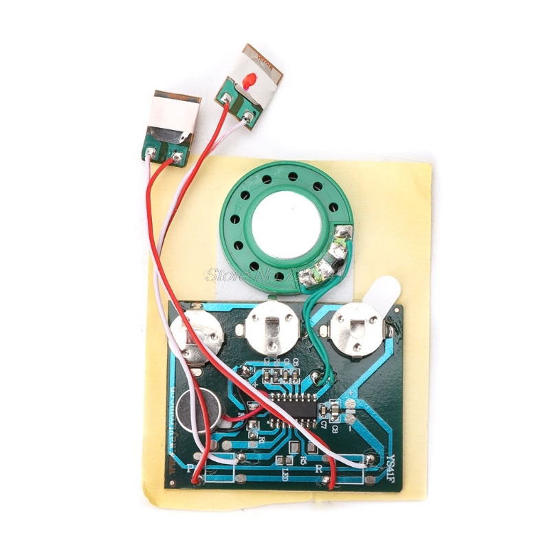 30S Double Button Voice Music Recordable Recorder Board ...
