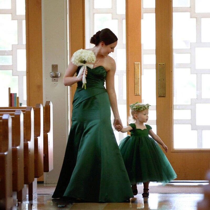 Одежда для мамы и дочки; платье; свадебное длинное платье; одинаковые юбки пачки для мамы и дочки; Семейный комплект платьев подружки невесты