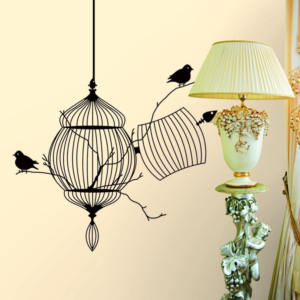 Mount Half A Cage On Your Wall And You Ll Get An Interesting Decor Piece