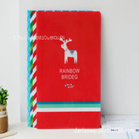 4pcs/lot Languo Colorful Rainbow Multi Pages Filing School/Office/Business Documents/File/Painting/Papers Presentation Folder