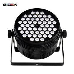 10 sztuk ze stopu aluminium LED Par 54x4 W zimne i ciepłe DMX512 efekt etap światła dobre dla DJ disco Party i klub nocny szybka wysyłka Oświetlenie sceniczne    -