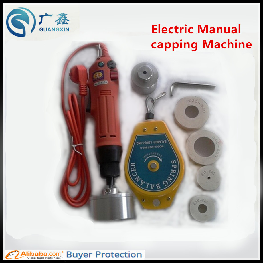Free Shipping Electrical Capping Machine For Screw Caps Food Processor Parts