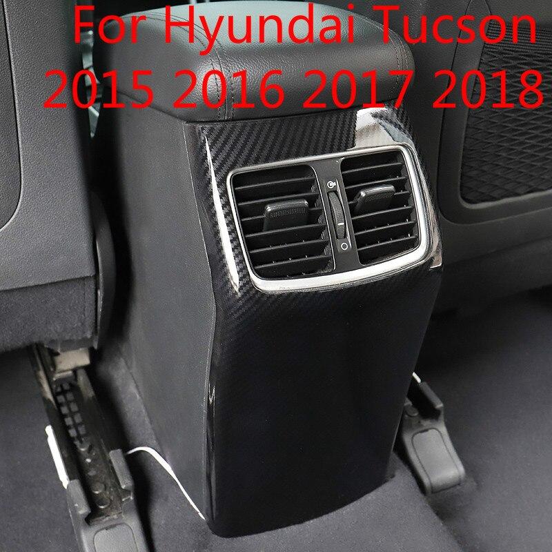 Pour Hyundai Tucson 2015 2016 2017 2018 spécial accoudoir boîte anti-coup arrière échappement air bouclier voiture-style bâches de voiture