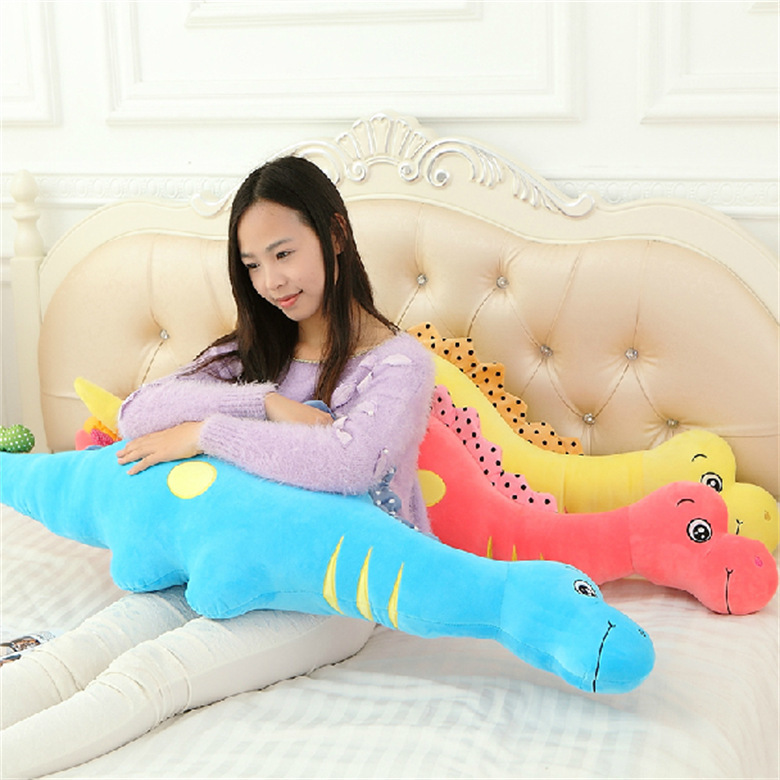 cartoon dinosaur plush toy lovely pillow Send birthday gift to a friend