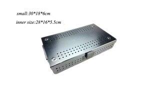 Image 5 - Boîte de stérilisation de stockage dalliage daluminium dinstrument chirurgical orthopédique médical de dentel