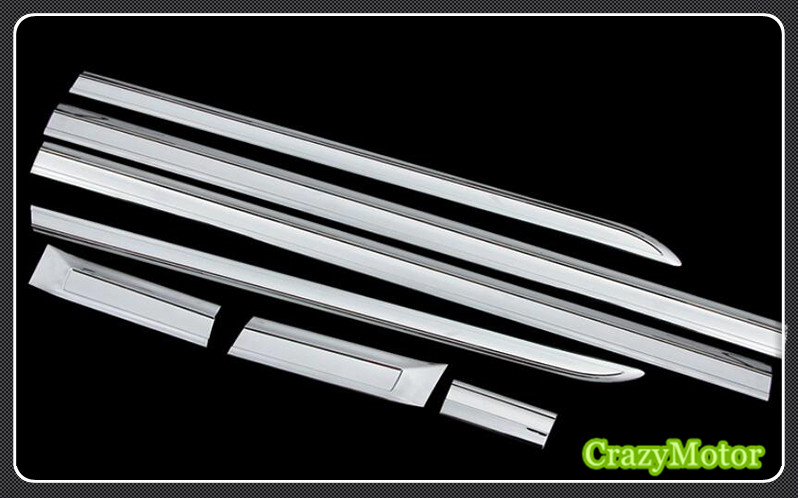 For Mercedes-Benz Vito 2014 2015 2016 2017 2018 ABS Side Body Side Door Moulding Trim auto accessories stainless steel auto side door trim moulding auto accessories for mitsubishi pajero sport 2014