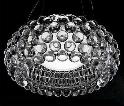 Modern round LED lamps Pendant lights Bedroom Acrylic Kitchen House 50cm Caboche Ball Bead light include bulb pendant lamps ZA