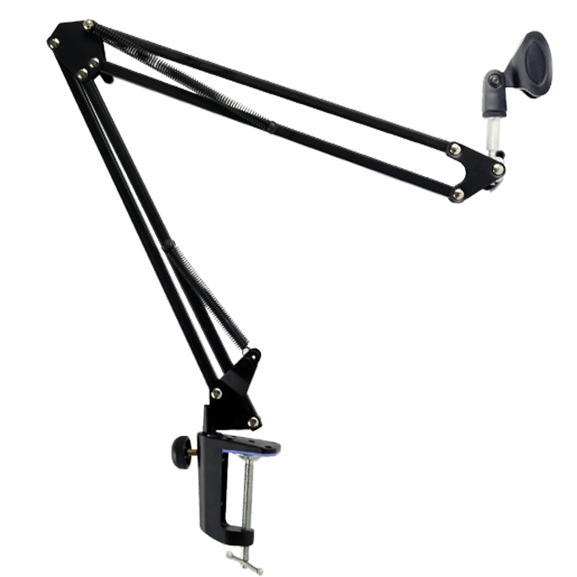 CES-Broadcast Studio Microphone Mic Suspension Boom Scissor Arm Stand