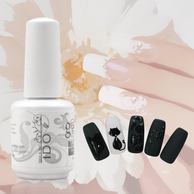 IDO gelpolish Gratis frakt Fransk nagelkonst Uv Primer naglar 12st - Nagel konst