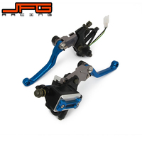 22MM Motorcycle Brake Lever Master Cylinder Cable Clutch Perch For Husqvarna Husaberg TE125 TE250 FE250 FC450