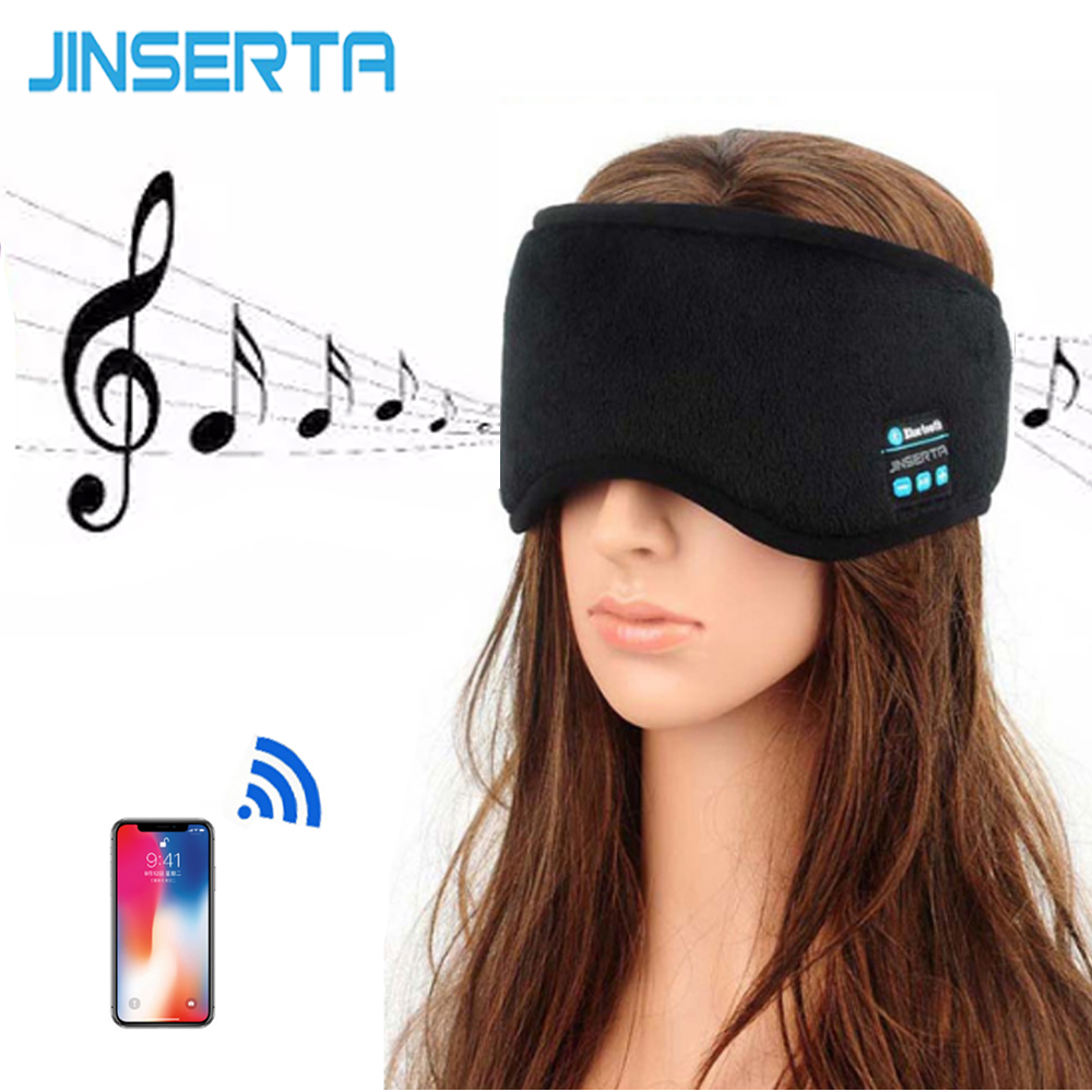 Aliexpress Com   Buy Jinserta Wireless Bluetooth Earphone Sleep Mask Phone Headband Soft