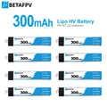 Mostato70 BETAFPV 300mAh HV 1S Lipo pil 30C 4.35V JST-PH 2.0 Powerwhoop bağlayıcı için Tiny Whoop Blade inductrix
