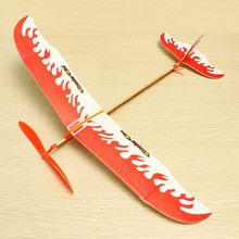 Hot Sale Thunderbird Teenagers Aviation Model Planes Powered By Rubber