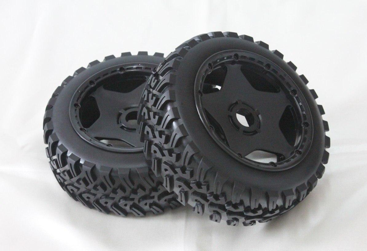 baja 5B  U front  wheel set ( only front) baja 5b ii front wheel off road tire assembly