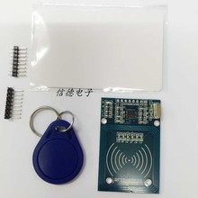 Free Shipping 2PCS/LOT RFID module RC522 Kits S50 13.56 Mhz 6cm With Tags SPI Write & Read for arduino uno 2560